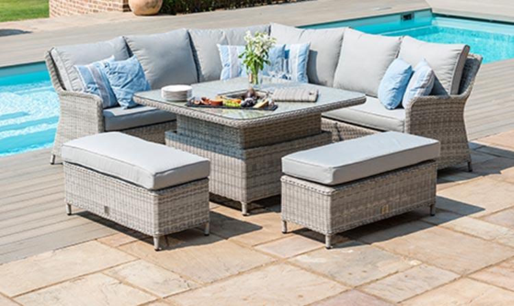 Maze Living Garden Furniture, Outdoor Furniture Seating Sets
