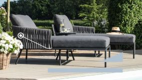 Maze - Marina 3 Seat Sofa Set