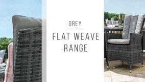 Maze Rattan - Planters Shaped - Grey