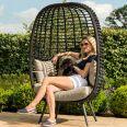 Maze Rattan - Riviera Pod Chair - Brown