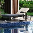 Maze Lounge - Outdoor Fabric Allure Sunlounger - Flanelle