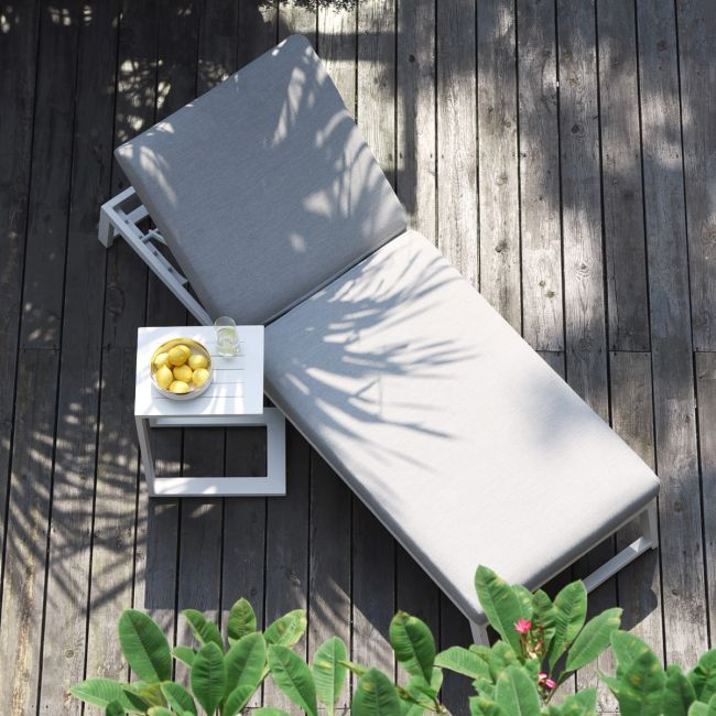 Maze Lounge - Outdoor Fabric Allure Sunlounger