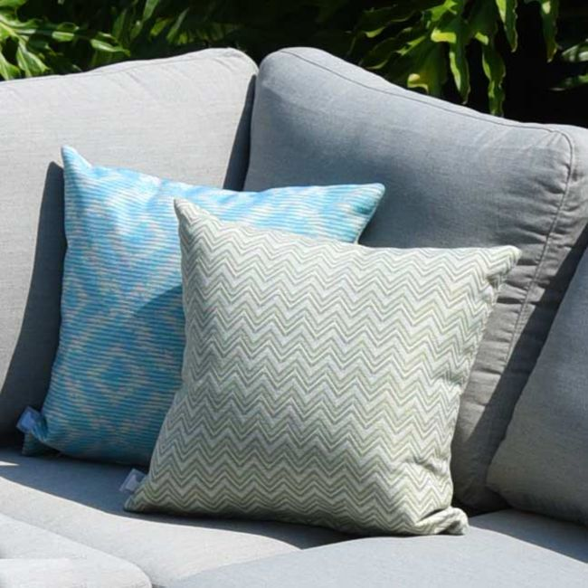 Maze Lounge - Outdoor Scatter Cushion - Polines Green