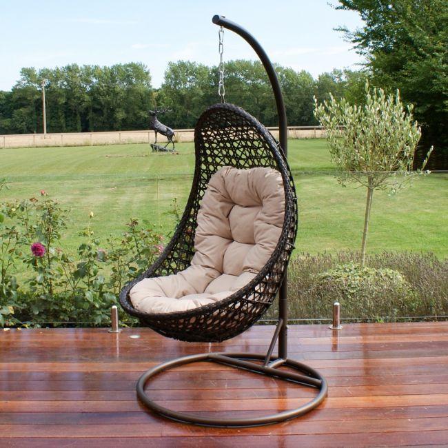 Maze Rattan - Malibu Hanging Chair