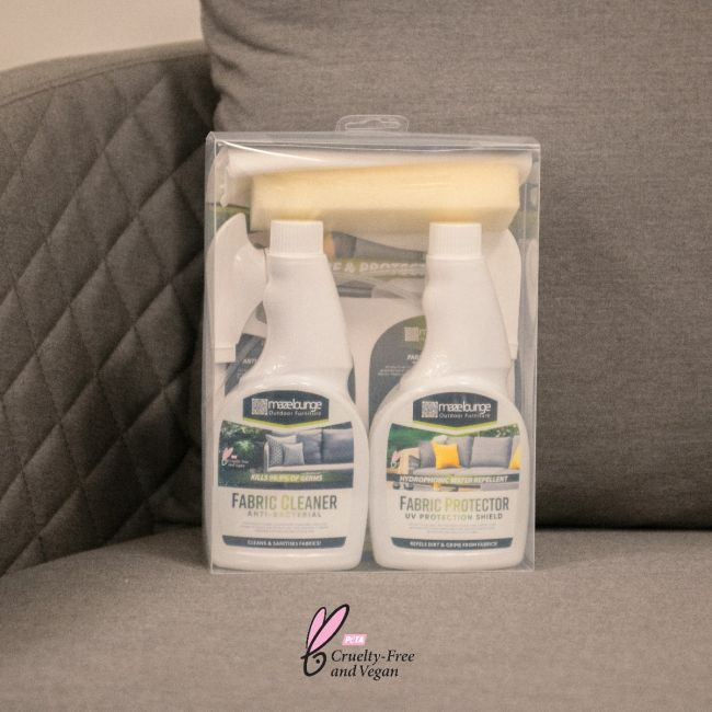Maze Lounge - Outdoor Fabric Cleaning & Protector Kit For Outdoor Fabric
