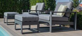 Maze - Amalfi 5pc Lounge Set - Grey