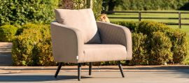 Maze Lounge - Outdoor Fabric Ambition 3 Seat Sofa Set - Taupe