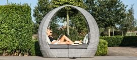 Maze Rattan - Ascot Daybed - With Weatherproof Cushions