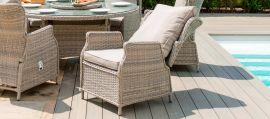 Maze Rattan - Cotswold Reclining 2 Seat Lounge Set