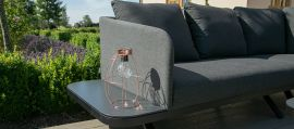 Maze Lounge - Outdoor Fabric Cove Corner Sofa Group - Charcoal