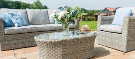 Maze Rattan - Oxford 3 Seat Sofa Set