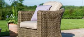 Maze Rattan - Winchester Small Corner Group - With Armchair