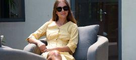 Maze Lounge - Outdoor Fabric Ambition 3 Seat Sofa Set - Flanelle