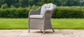 Maze Rattan - Oxford - Heritage 8 Seat Round Dining Set - With Ice Bucket & Lazy Susan