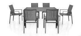 Maze - New York 6 Seat Rectangular Dining Set