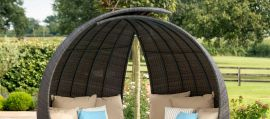 Maze Rattan - Lotus Daybed - Brown