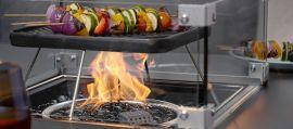 Maze Lounge - Fuzion Square Cooking Pan & Shelf