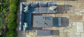 Maze - New York Corner Dining Set - With Rising Table