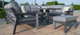 Maze - New York U Shaped Sofa Set - With Rising Table