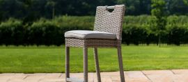 Maze Rattan - Oxford 6 Seat Round Bar Set - With Ice Bucket