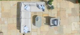 Maze Rattan - Oxford Large Corner Group - With Additional Armchair