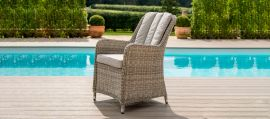 Maze Rattan - Oxford - Venice 6 Seat Round Dining Set - With Ice Bucket & Lazy Susan