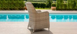 Maze Rattan - Oxford - Venice 8 Seat Oval Dining Set - With Ice Bucket