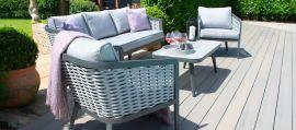 Maze - Portofino 3 Seat Sofa Set - Rope Weave