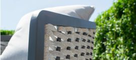 Maze - Portofino 2 Seat Sofa Set - Rope Weave