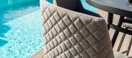Maze Lounge - Outdoor Fabric Regal Bar Stool - Flanelle