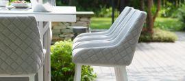 Maze Lounge - Outdoor Fabric Regal Bar Stool - Lead Chine