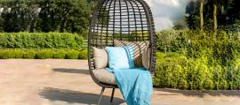 Maze Rattan - Riviera Pod Chair - Brown