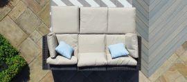 Maze Rattan - Rio Corner Sofa Group - Brown