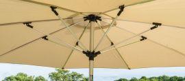 Maze Rattan - 3m Round Parasol - Beige