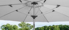 Maze Rattan - 2.7m Round Parasol - Grey