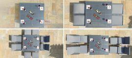 Maze - New York 9 Piece Cube Set