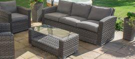 Maze Rattan - Victoria 3 Seat Sofa Set