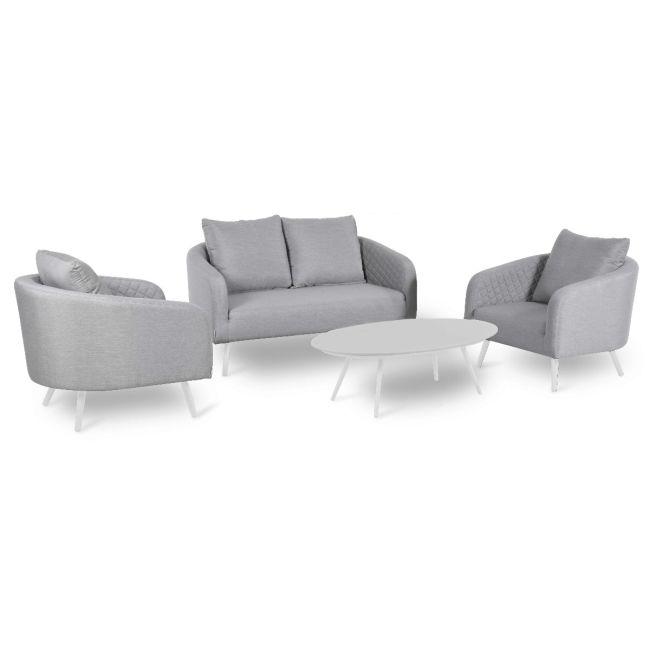 Maze Lounge - Ambition 2 Seat Sofa Set - Lead Chine