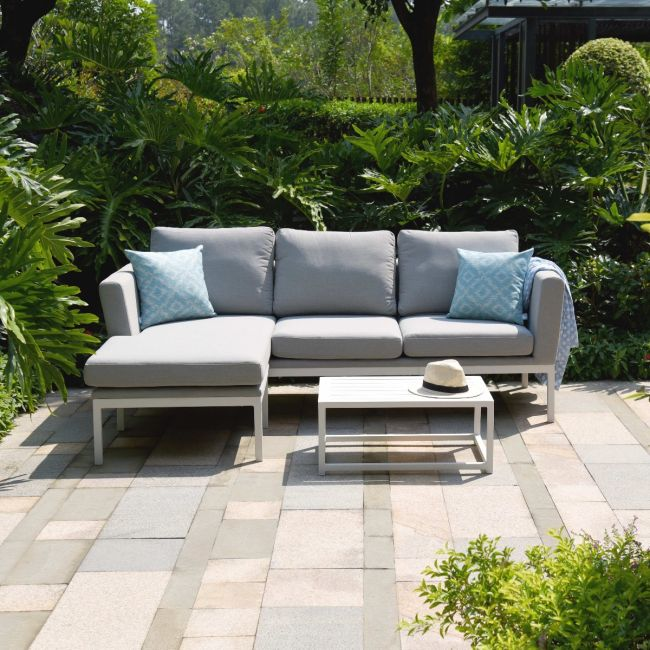 Maze Lounge - Outdoor Fabric Pulse Sofa Set - Lead Chine