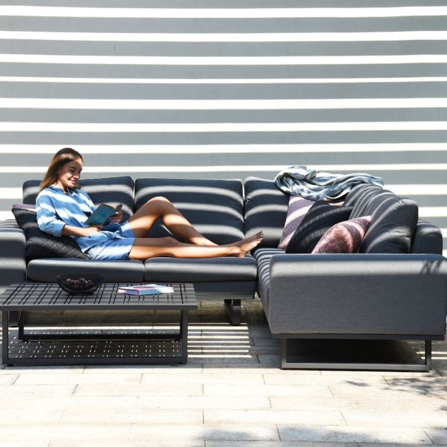 Maze Lounge - Outdoor Fabric Ethos Corner Group