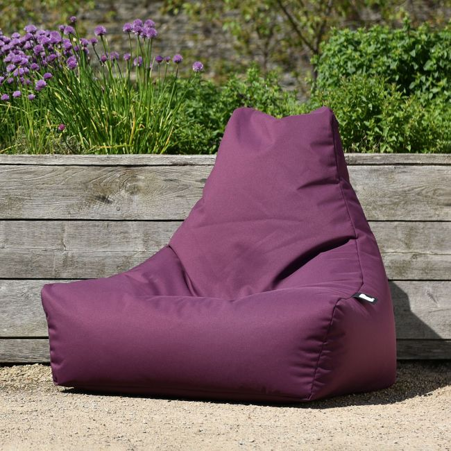 Extreme Lounging - Outdoor Mighty Bean Bag - Berry