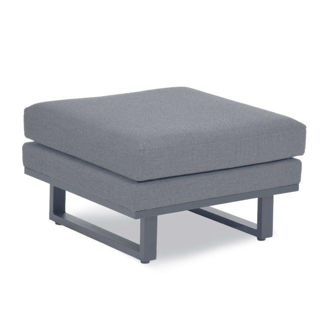 Maze Lounge - Outdoor Fabric Ethos Footstool - Flanelle