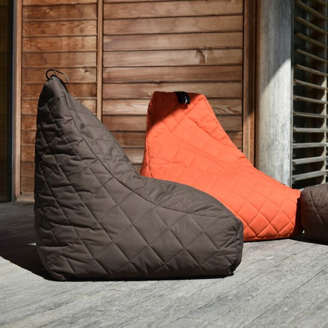 Extreme Lounging - Mighty Quilted Bean Bag - Brown
