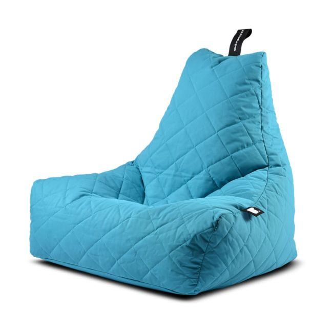 Extreme Lounging - Mighty Quilted Bean Bag - Aqua