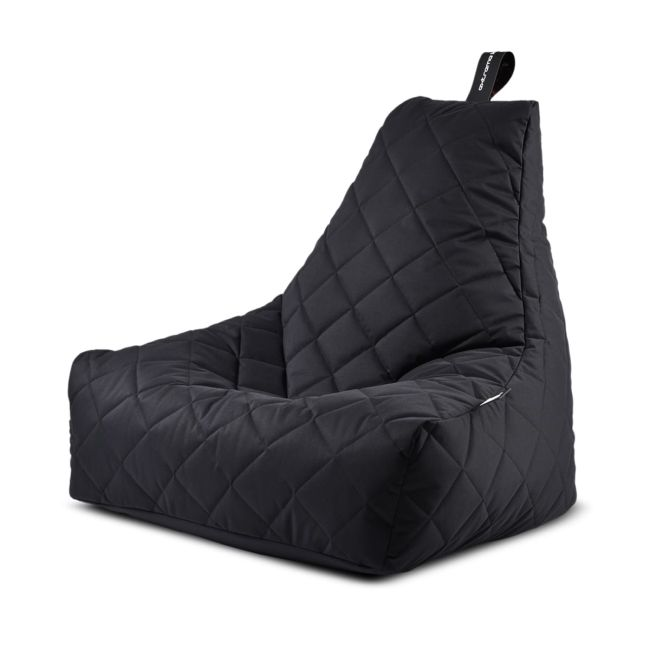 Extreme Lounging - Mighty Quilted Bean Bag - Black