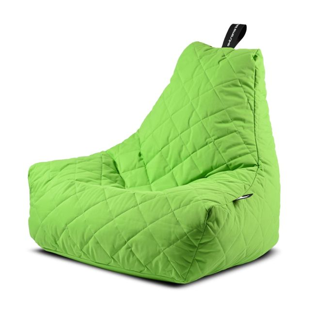 Extreme Lounging - Mighty Quilted Bean Bag - Lime