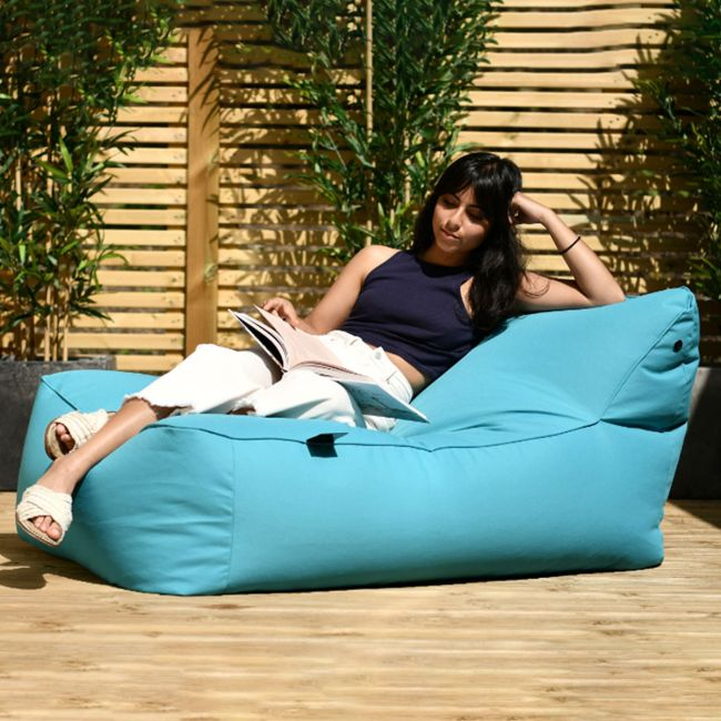 Extreme Lounging - Outdoor Bean Bed - Aqua