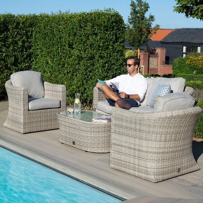 Maze Rattan - Oxford 2 Seat Sofa Set