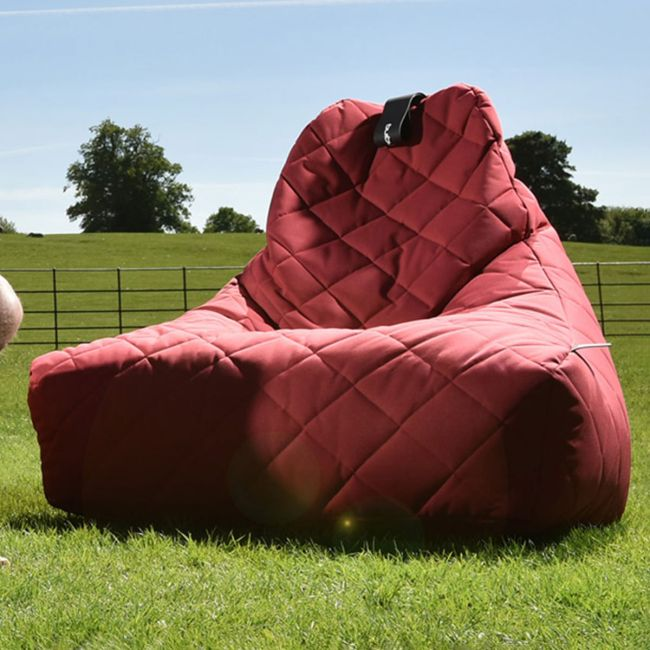 Extreme Lounging - Mighty Quilted Bean Bag - Red