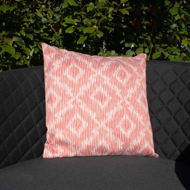Maze Lounge - Pair of Outdoor Scatter Cushion - Santorini Red